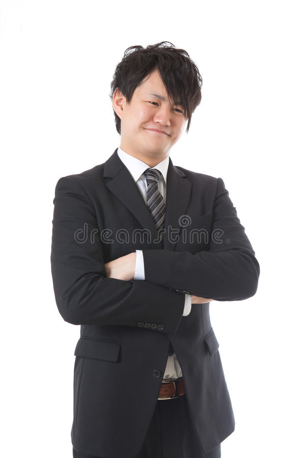 The Businessman Who Is Troubled Stock Photos