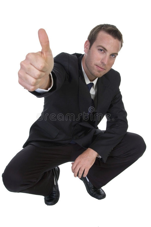 Free Businessman Wishing Good-luck Stock Photography - 6588632