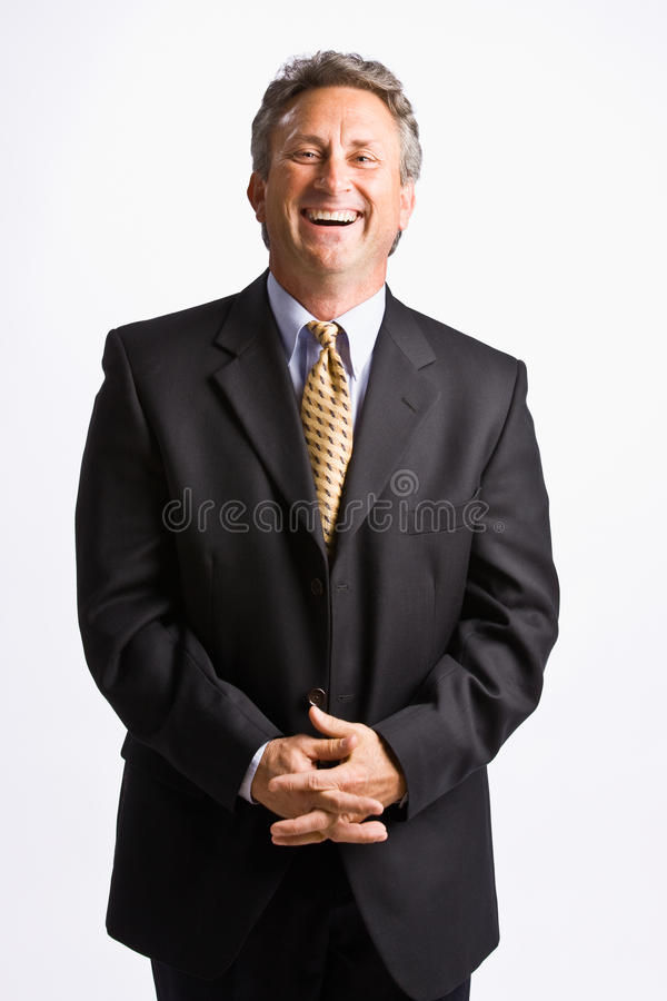 Free Businessman With Hands Clasped Royalty Free Stock Photo - 17051205
