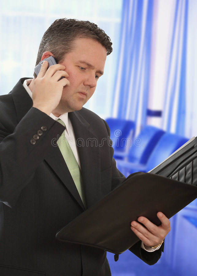 Businessman Working Royalty Free Stock Photo