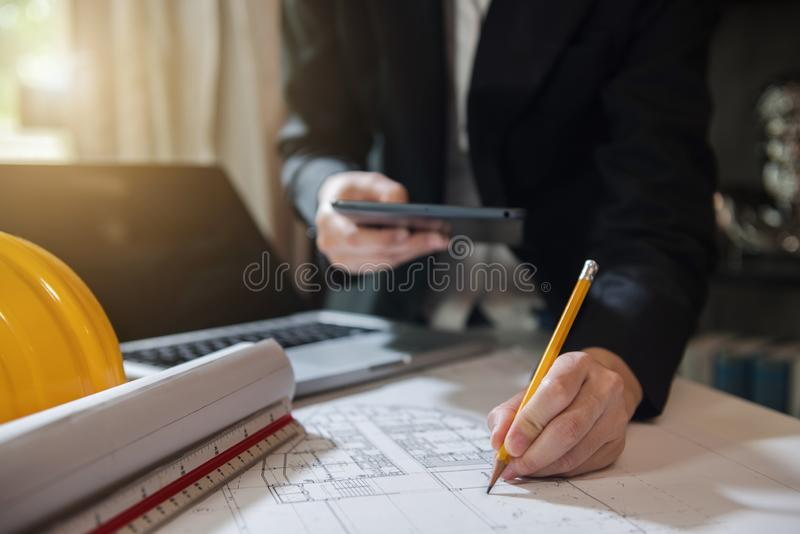 Business project team working together at meeting room at office. stock images