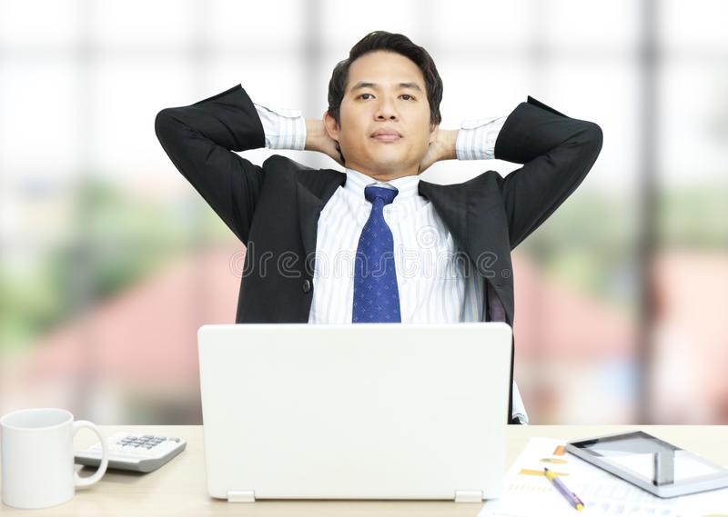 Man working business royalty free stock image