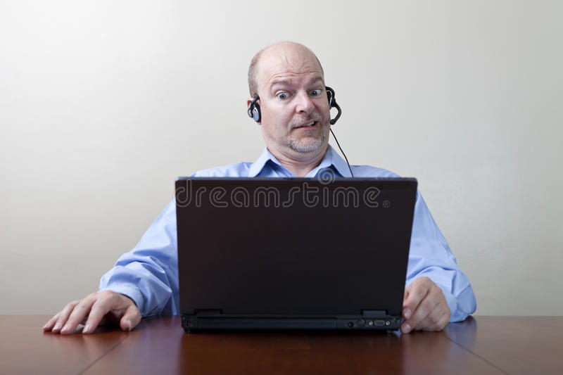 Download Businessman With WTF Expression Stock Photography - Image: 21584232