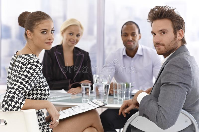 Businessmeeting imagem de stock royalty free