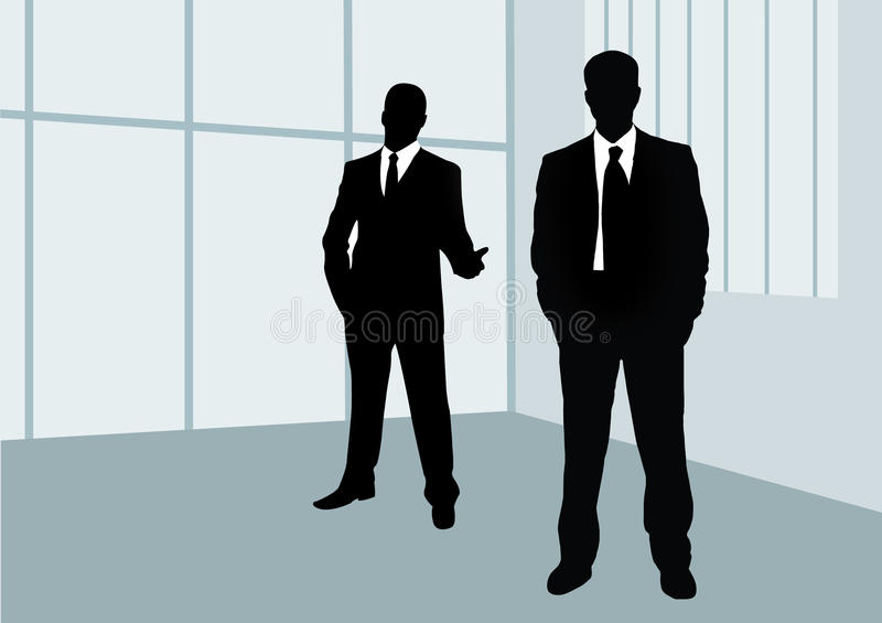 Download Businessmen stock vector. Image of manager, leader, discussion - 19740911