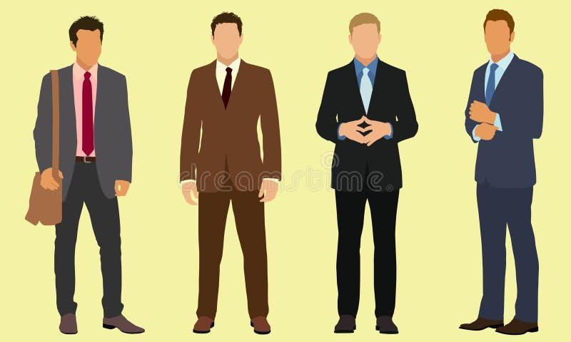 Businessmen vector illustration