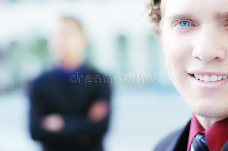 Businessmen royalty free stock photography