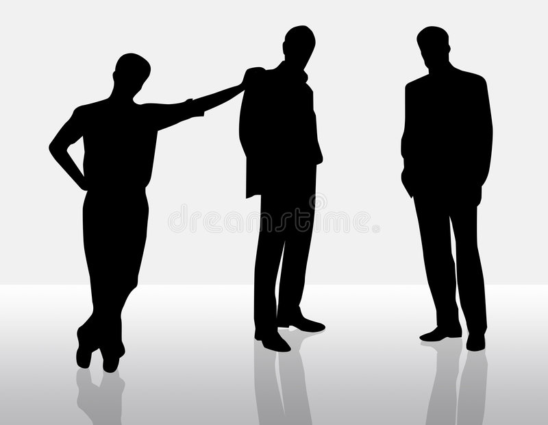 Businessmen royalty free stock image