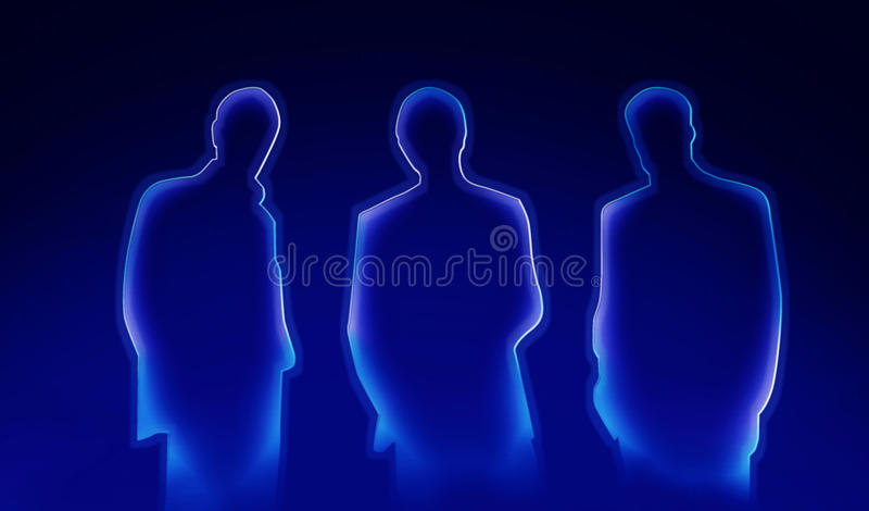 Download Businessmen abstract stock illustration. Image of direct - 22247652