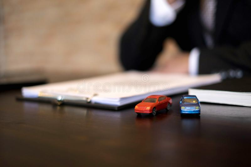 Businessmen contract on trading - rent a car. Businessmen insurance car concept. Businessmen contract on trading - rent a car. Businessmen insurance car concept stock photos