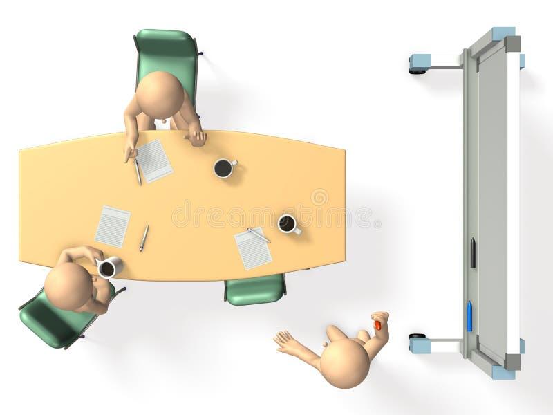 Download Businessmen Are Eager To Brainstorm Ideas. Stock Illustration - Image: 28149544