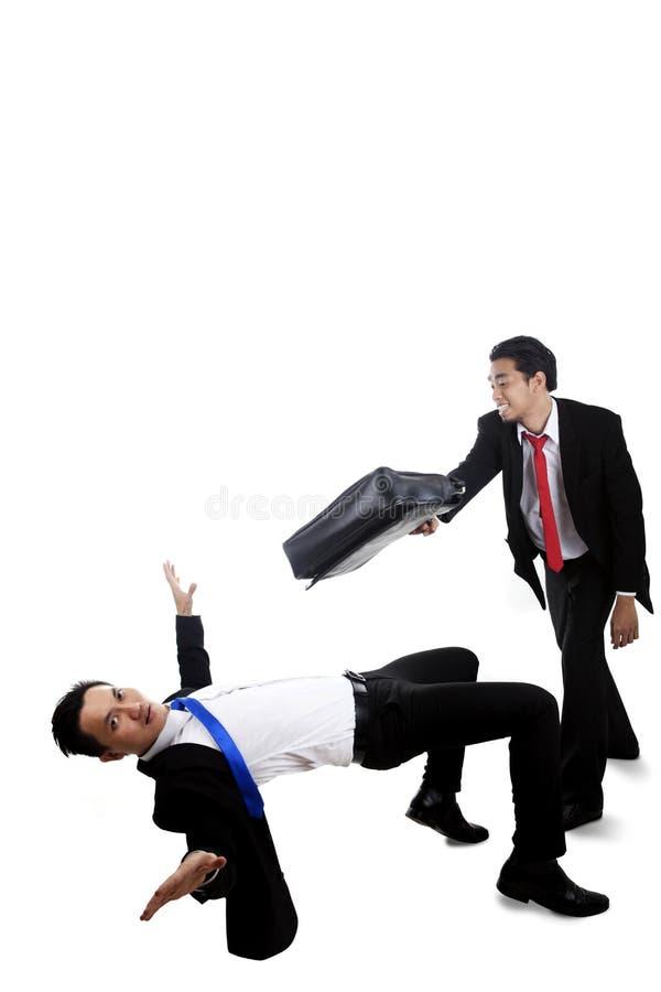 Download Businessmen having a fight stock image. Image of bend - 23743727