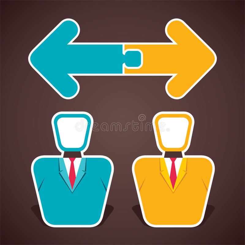Download Businessmen meeting stock vector. Illustration of business - 34060308