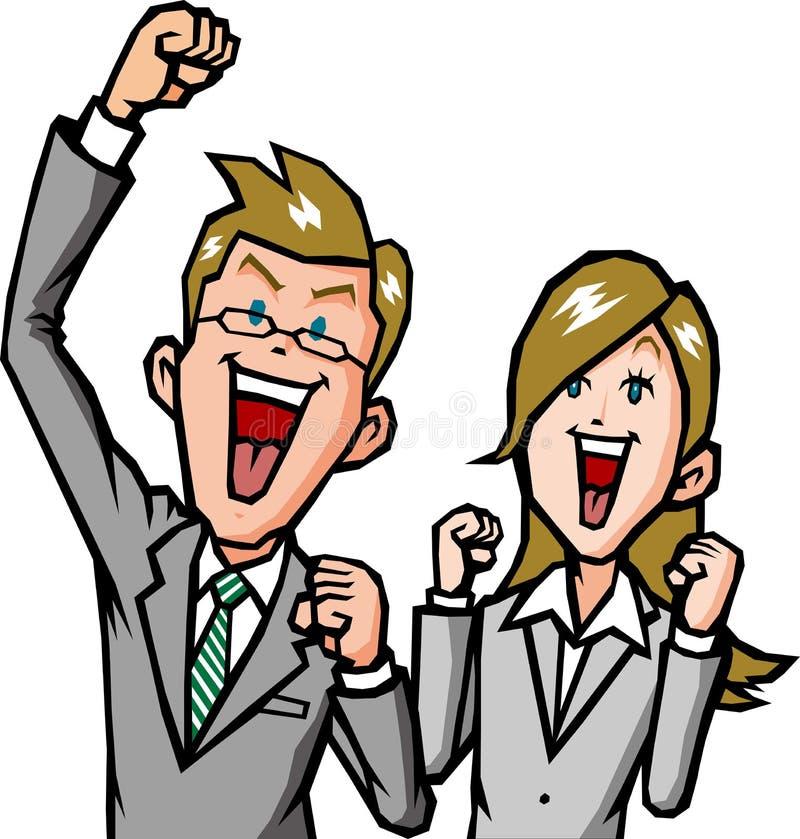 businessmen rejoice stock illustration illustration of great 55322424 rh dreamstime com Rejoice Clip Art Lettering Rejoice in God Clip Art
