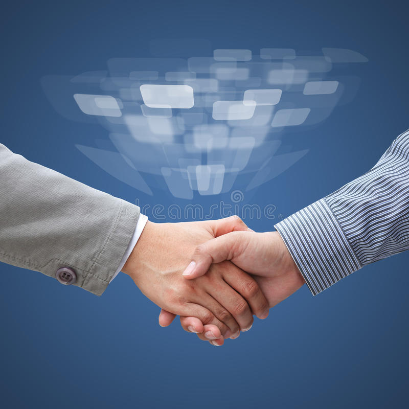 Free Businessmen Shaking Hands Stock Image - 40401341
