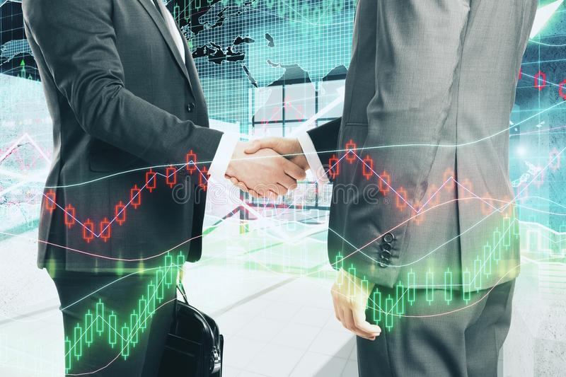 Finance and investment concept stock photo