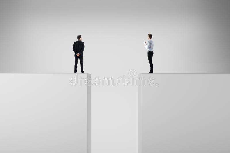 Risk, challenge and teamwork concept royalty free stock photos