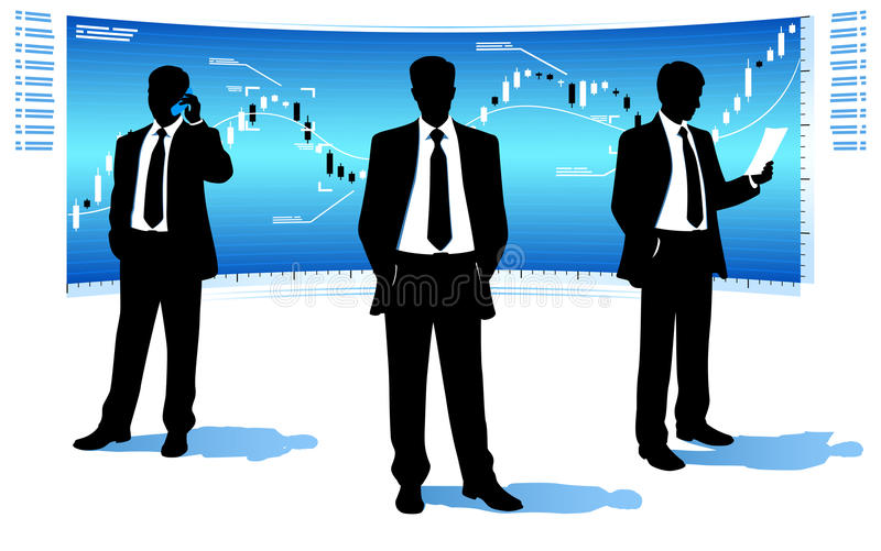 Download Businessmen stock photo. Image of suit, silhouette, tendency - 32775112