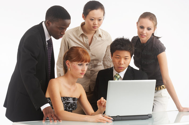 businesspartners obraz stock