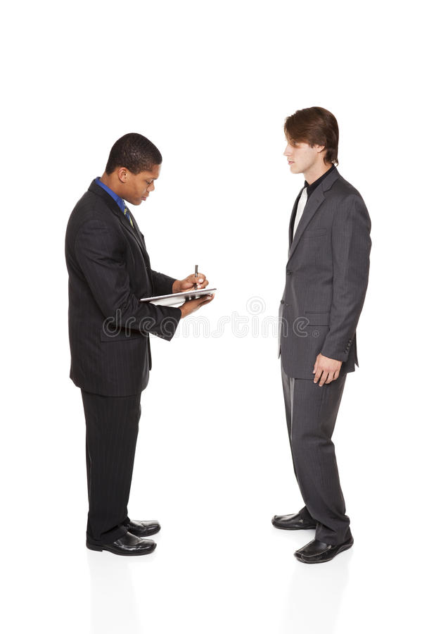 Businesspeople - που παίρνει τις σημειώσεις στοκ φωτογραφία με δικαίωμα ελεύθερης χρήσης
