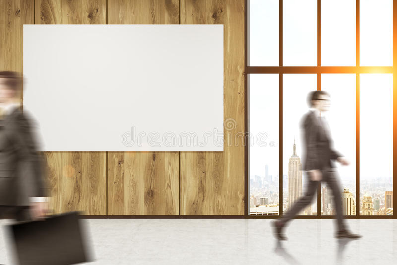 Businesspeople που πηγαίνει στο γραφείο απεικόνιση αποθεμάτων