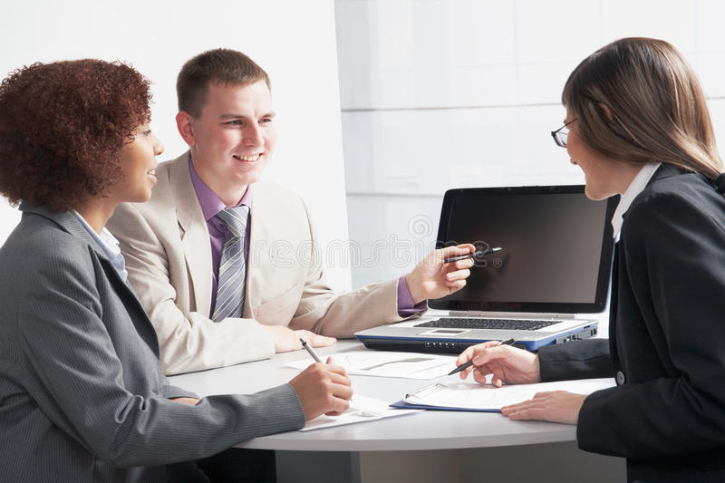 Businesspeople royalty free stock image