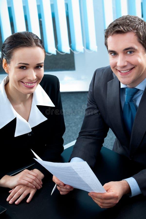 Businesspeople royalty-vrije stock foto