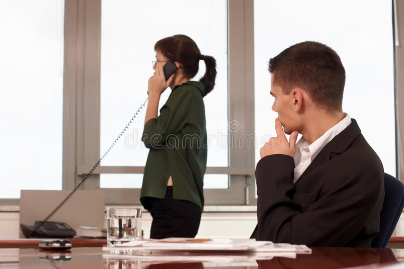 Download Businesspeople stock image. Image of adult, negotiations - 1687795
