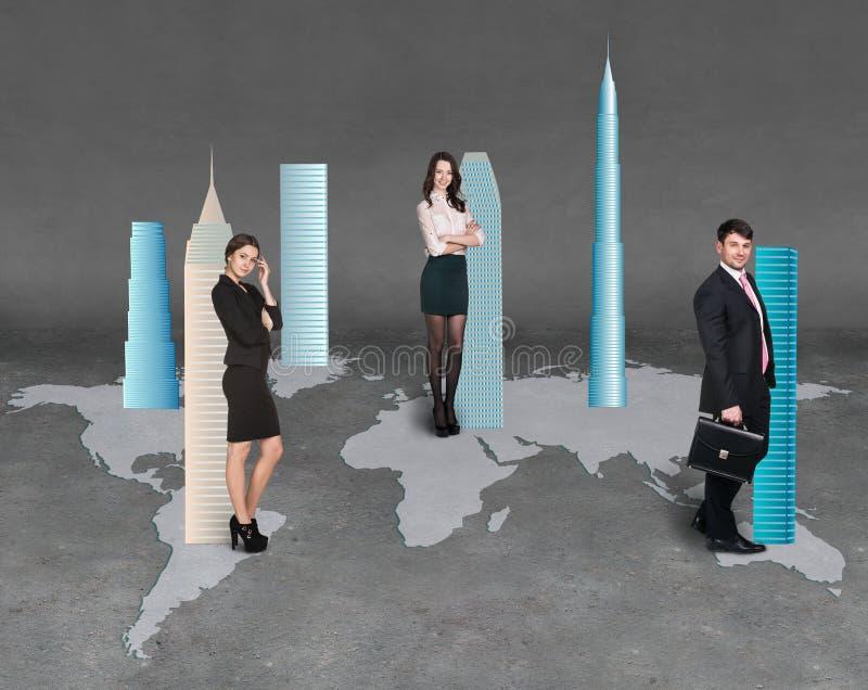 businesspeople stock abbildung
