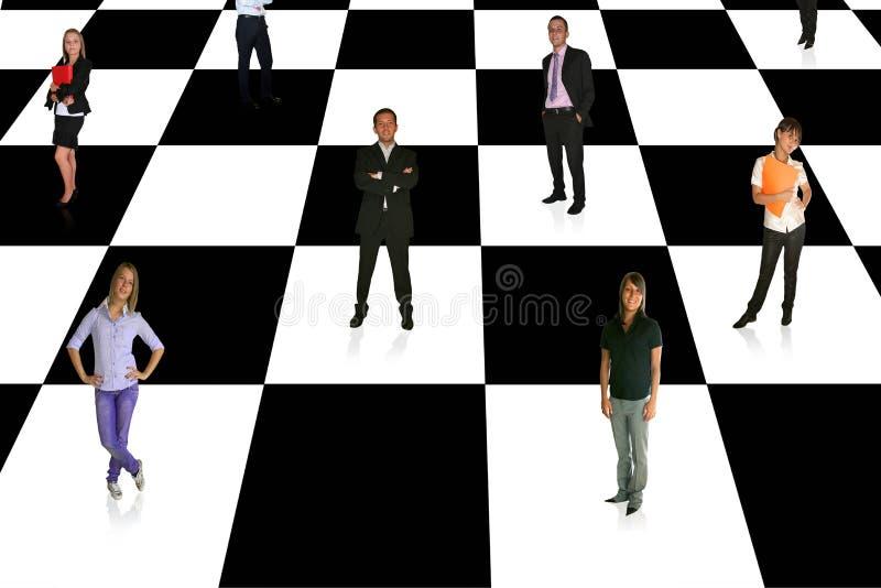 businesspeople royaltyfri fotografi