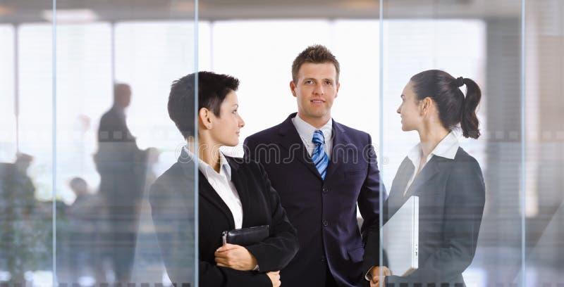 Businesspeople in bureau royalty-vrije stock fotografie
