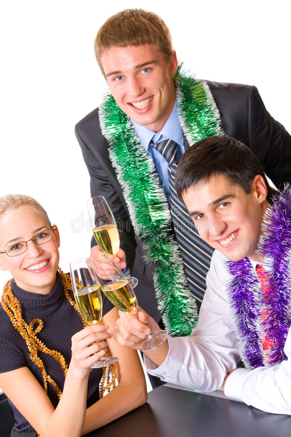 Download Businesspeople At Celebration Stock Photo - Image: 3761396