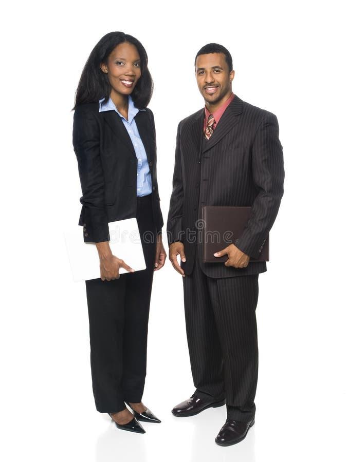 Businesspeople - cheerful team stock image
