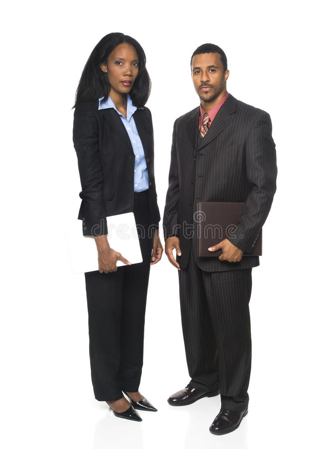 Businesspeople - confident team royalty free stock photo