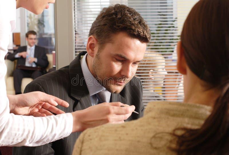 businesspeople neeting επαγγελματίας στοκ εικόνες