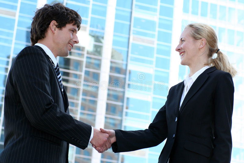 Download Businesspeople Shaking Hands Stock Photo - Image: 3288504