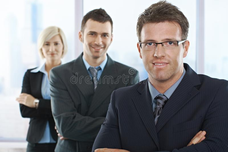 Download Businesspeople Smiling At Camera Stock Photo - Image: 13608882
