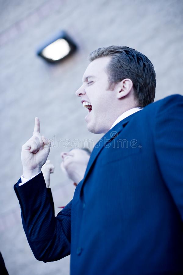 Businesspeople Success royalty free stock photos