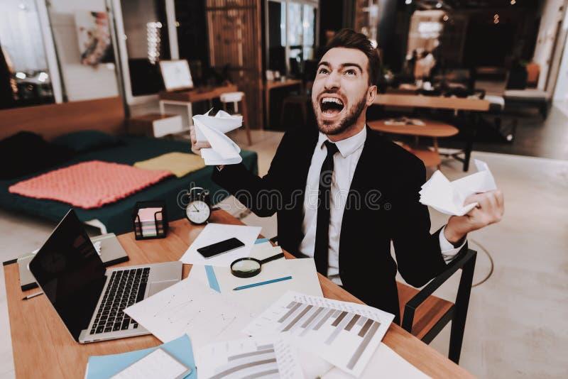 businesspeople teleurgesteld Hoop van het Werk stock afbeeldingen