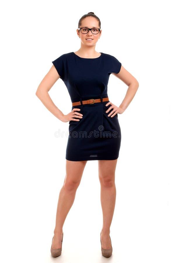 Download 年轻businesss妇女画象 库存照片. 图片 包括有 姿势, 微笑, 逗人喜爱, 纵向, 摆在, 玻璃 - 30335598