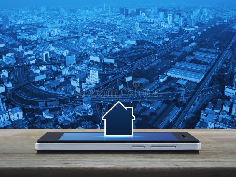 Businesss real estate online concept vector illustration