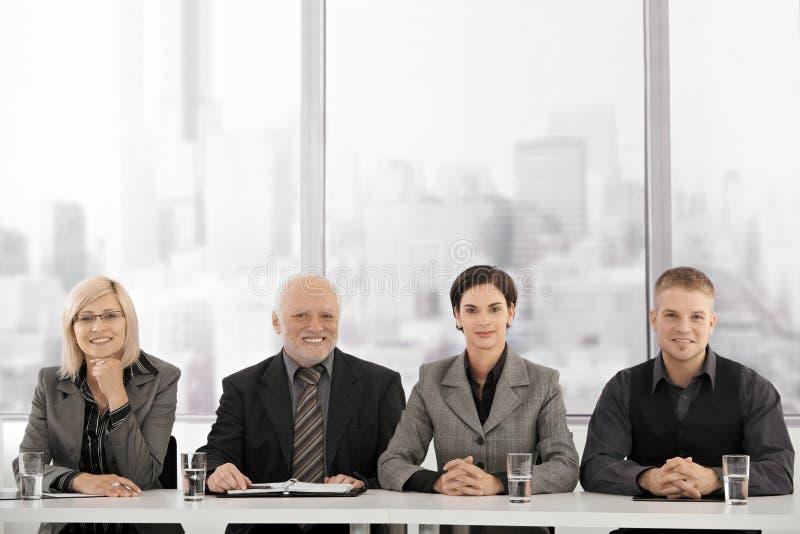 businessteam会议 库存图片