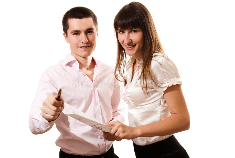 businessteam επιτυχείς νεολαίες στοκ φωτογραφία με δικαίωμα ελεύθερης χρήσης