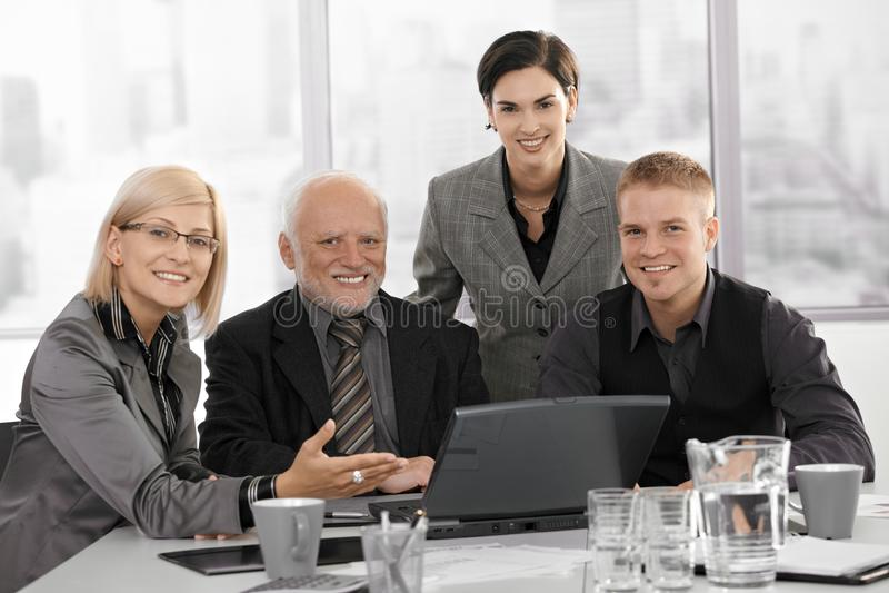 Businessteam στην εργασία στοκ εικόνα με δικαίωμα ελεύθερης χρήσης