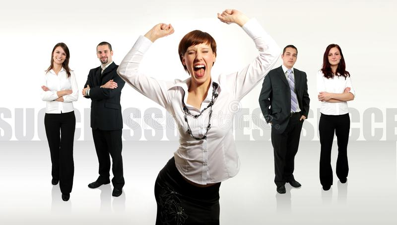 Businessteam lizenzfreies stockfoto