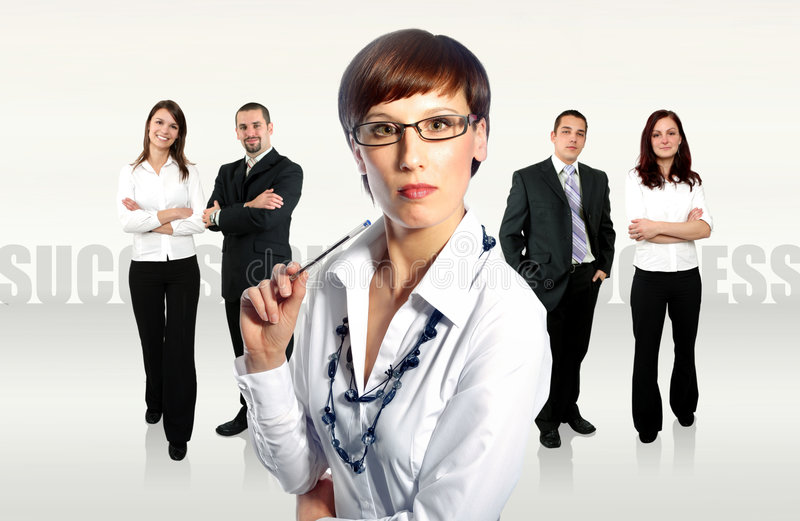 Businessteam image stock