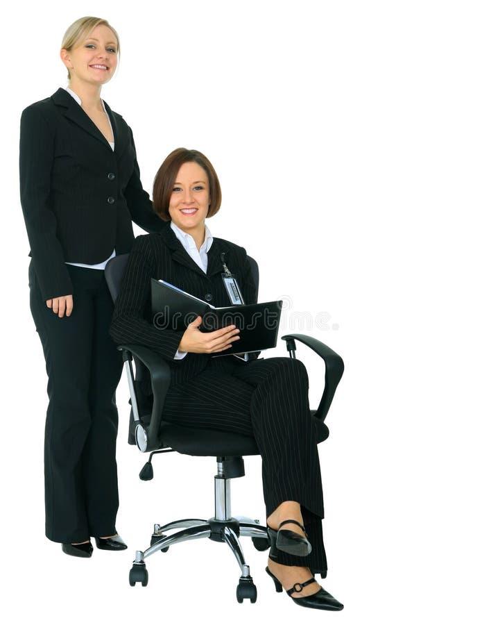 Businessteam de sorriso imagem de stock royalty free