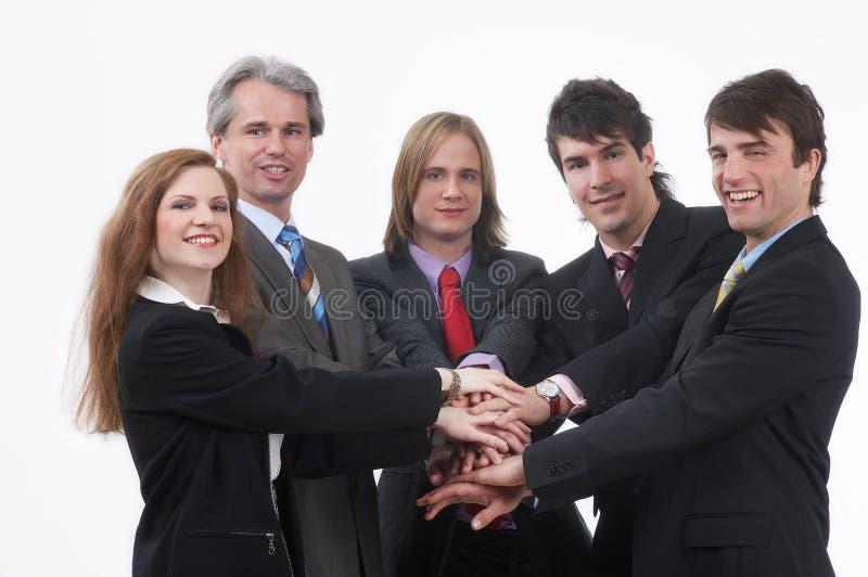 Businessteam forte fotografia de stock royalty free