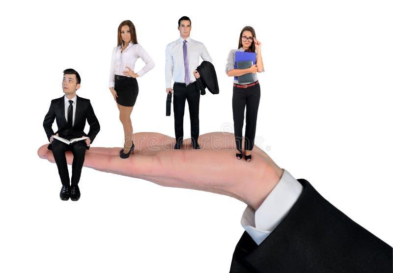 businessteam isolated royaltyfri bild