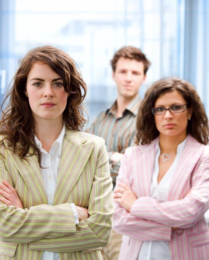 businessteam szczęśliwy obrazy stock